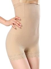 Slimming Steel Boned High Waist Thigh Body Shaper For Women