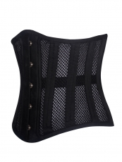 Breathable Mesh 20 Double Steel Boned Waist Training Corsets