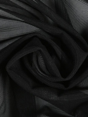 Women Transparent Mesh Teddy Bandage Bodysuit Lingerie