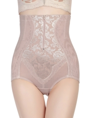 Plus Size Tummy Control Panties Lace Body Shaper Shapewear