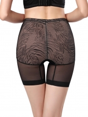 Thin Lace High Waist Contorl Panties Thigh Body Shaper