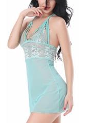 Women Lace Chemises Outfit Transparent Babyolls Lingerie