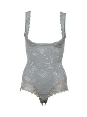 Open Bust Shapewear Seamless Lace Bodysuits Body Shaper