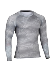 Mens Long Sleeve Shapewear Compression Thermal Undershirts