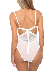 Sexy Push Up Lace Teddies Backless Bodysuits Lingerie