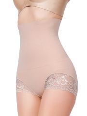 Women High Waist body shaper Tummy Control Strapless Panties