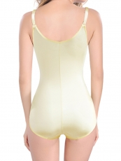 Clips Zipper Womens Bodysuit Control Butt Lift Body Shaper