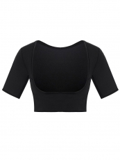 Women's Neoprene Waist Shaper Vest With Sleeves Body Shaper