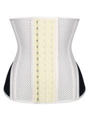 Breathable Latex Waist Trainer Underbust Steel boned Corsets