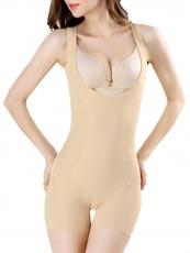 Women Tommy Control Shapewear Open Butt Bodysuit Body Shaper