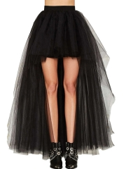 Women Vintage Petticoat Tulle Skirt Ballet Bubble Tutu Dress