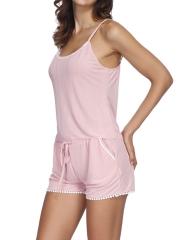 Womens Sleep Sexy Lingerie Pajamas Cami Shorts Set Nightwear
