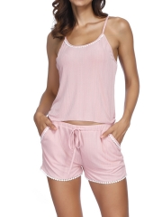 Womens Sleep Sexy Lingerie Pajamas Cami Shorts Set Nightwear