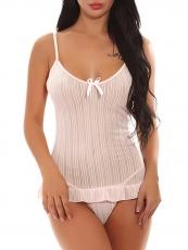 Women Babydoll Sexy Lingerie Chemise Nightgown Sleepwear Set
