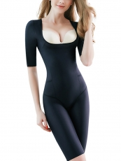 Women's Open Butt Shapewear Seamless Firm Control Bodysuits
