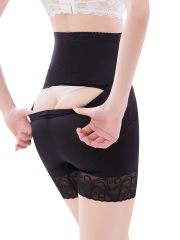 Top High waist Lace breathable Womens Body Shaper panties