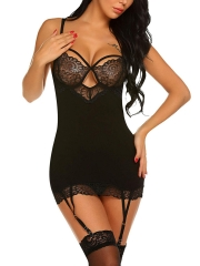 Pajama Women Sexy lingerie Wholesale Bodysuit Sleepwear set