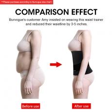 Waist Trainer Weight Loss Slim Belt Latex Corset Body Shape