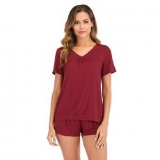 Whoesale Pajama Shorts Set Sleepwear Suit Lingerie For Women