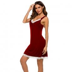 Sexy Short Skirt Pajama Sleepwear Suit Lingerie underwear