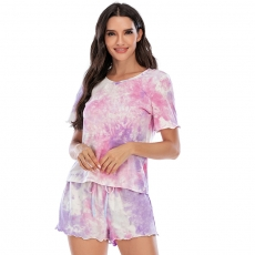 Sleepwear Pajamas Sleepwear Short Sleep Pants T-shirt Sets