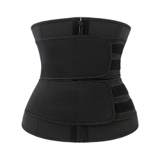 Double Velcro Waist Trainer Corset Neoprene Sweat Shaperwear