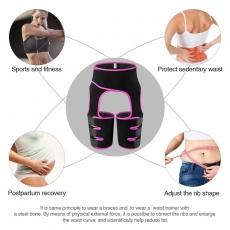 Neoprene Waist Trainer Leg Shapewear Slim Trimmer Thigh Belt