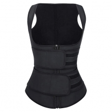 Double Straps Neoprene Shaper Vest Sports Waist Trainer Belt