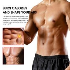 Men's Vest Double Belt Sweat  Waist Trainer Body Shapewear