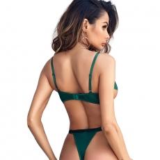 Sexy Bra Bikini Swimsuit Swimwear Thong Set Bathing Suit