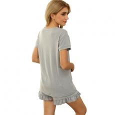 Pajamas Set Autumn Pyjamas Women Thin Pajama Sleepwear