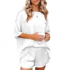 Women Silk Nightwear Satin Sleepwear Pajama Casual Suits Set