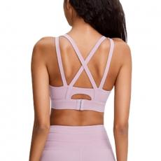 Women Sport Yoga Top Sexy Bra Clothes Sportwear Push Up Bra