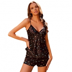 Best Selling Pajamas Women's Loungewear Lingerie Sleepwear