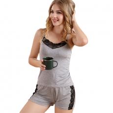 Pajamas Short For Ladies Loungewear Lingerie Sleepwear Set