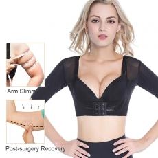 Tops Body Shapewear Arm Shapers Workout Short Sleeve Crop