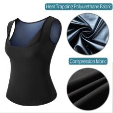 Women Sauna Sweat Vest Waist Trainer Slim Body Shapewear Top