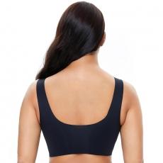 Comfort Padded Yoga Sports Women Stretch Bra Crop Top Vest