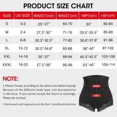 Butt Lift Women Shapewear Zipper Control Tummy Lace Panties