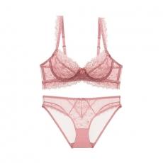 3hooks Famale Lingerie Sexy Lace Underwear Teddies Bra Set
