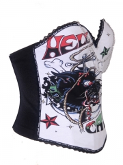 White Dragon Club Fashion Corset Top