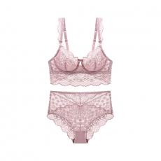 Female Comfortable Lingerie Lace Bra Set Underwear Teddies